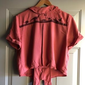 Hot Topic Tops - Jurassic park 25th anniversary cosplay top